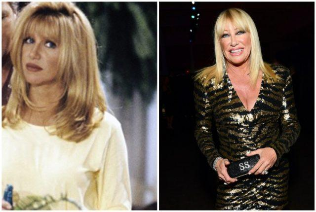 Suzanne Somers collage.