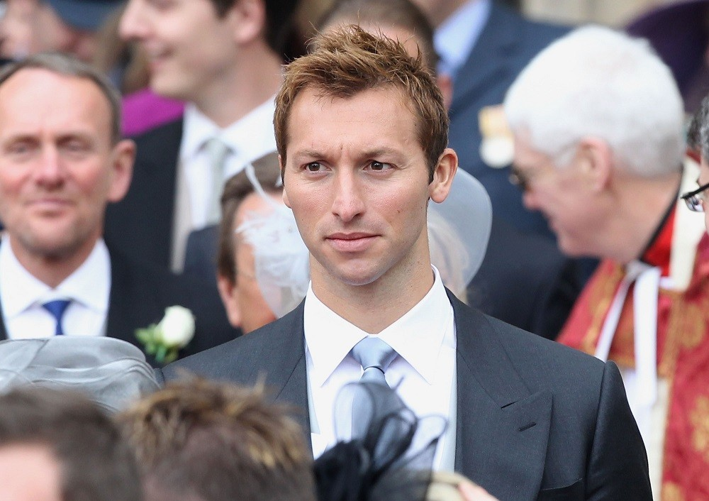 Swimmer Ian Thorpe exits following the marriage of Prince William, Duke of Cambridge and Catherine