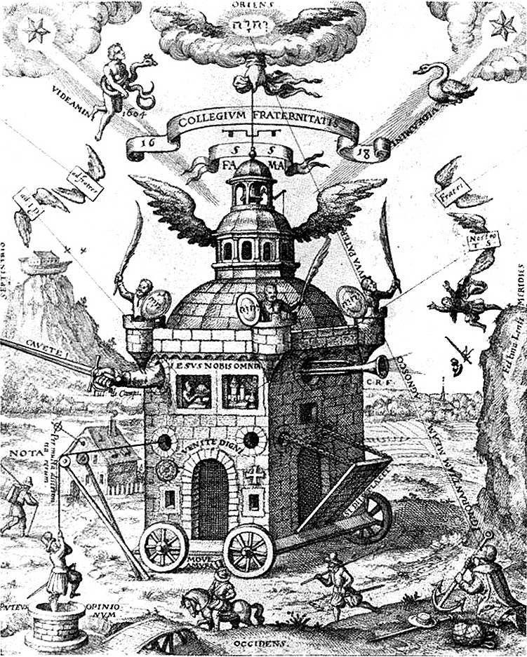Temple of the rosy cross Rosicrucians