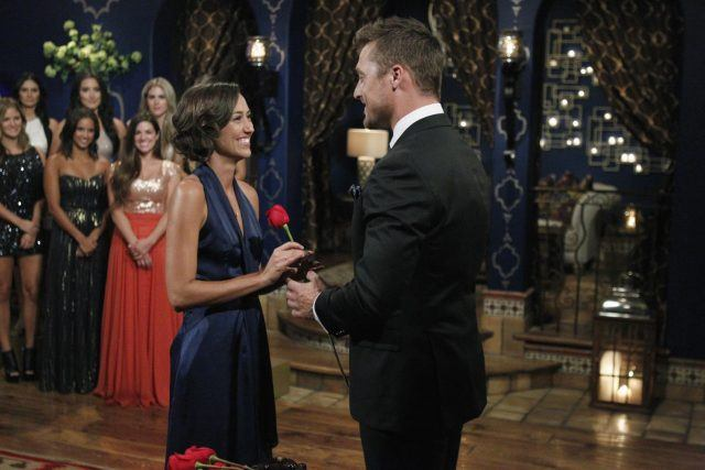 'The Bachelor' rose ceremony.