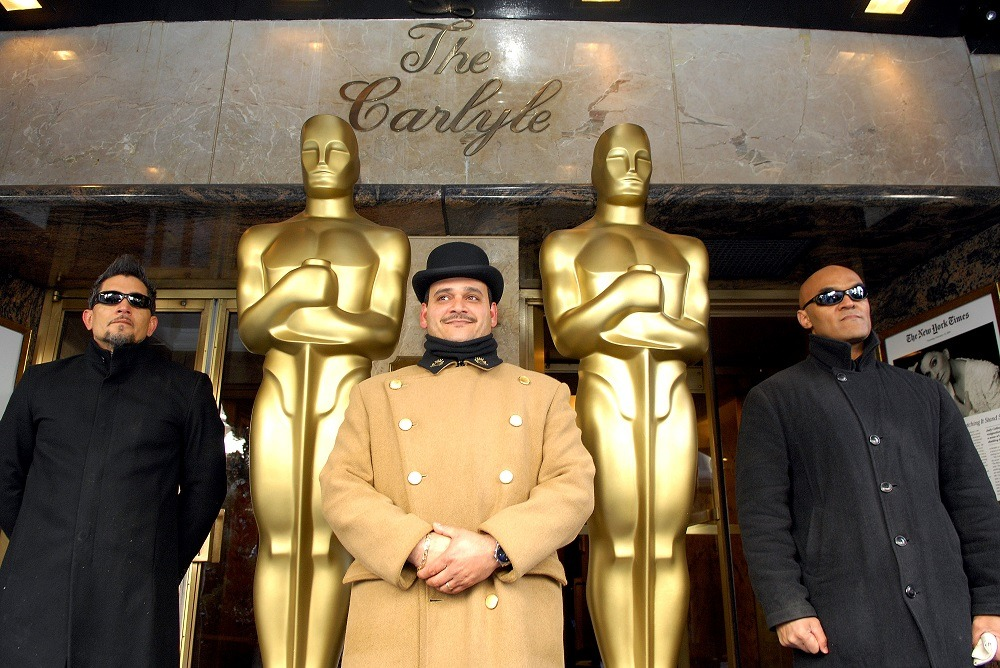 Doormen at The Carlyle Hotel