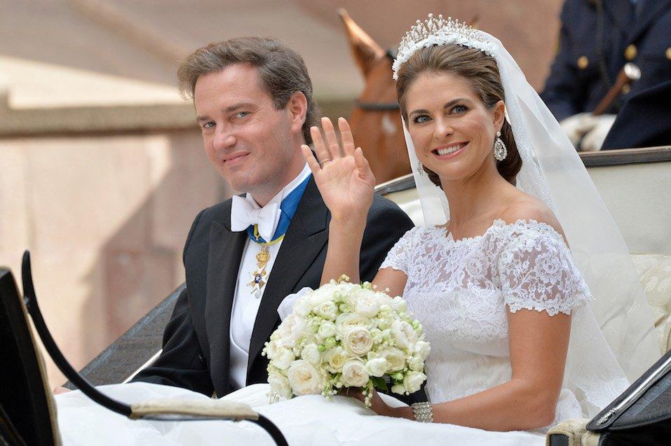 Christopher O'Neill and Princess Madeleine of Sweden