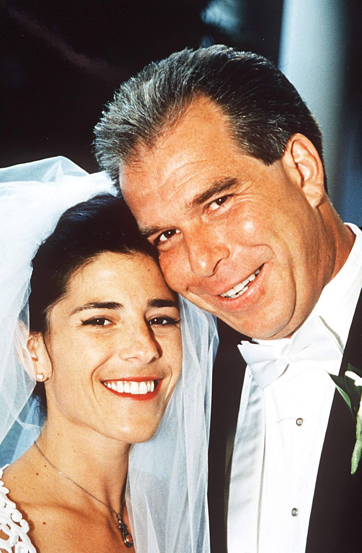 Tony Rodham and Nicole Boxer wedding