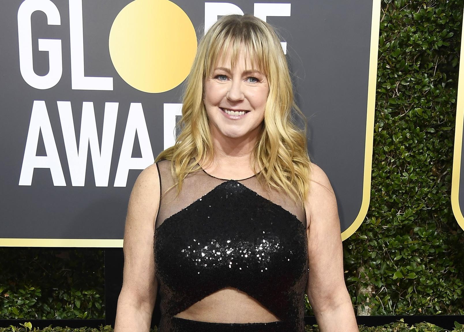 Tonya Harding at the Golden Globes