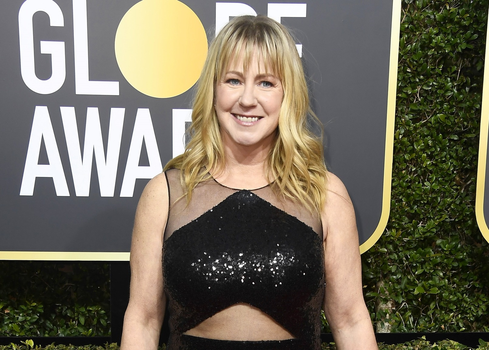 Tonya Harding at the Golden Globes