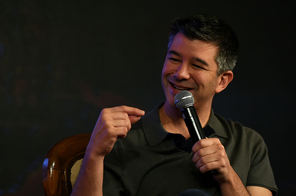 Co-founder and Chief Executive Officer (CEO) of US tranportation company Uber Travis Kalanick