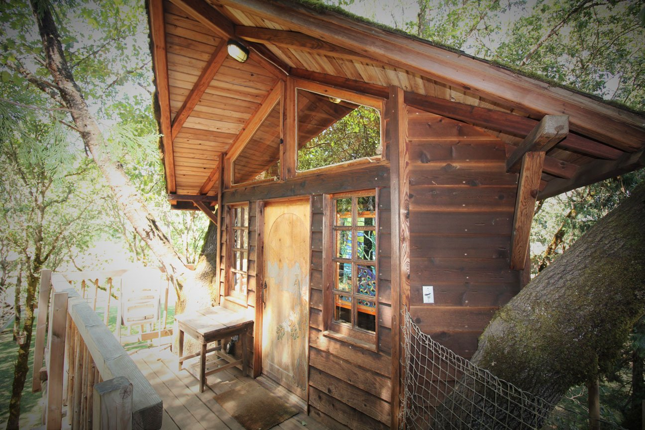 Treesort treehouse hotel Peacock