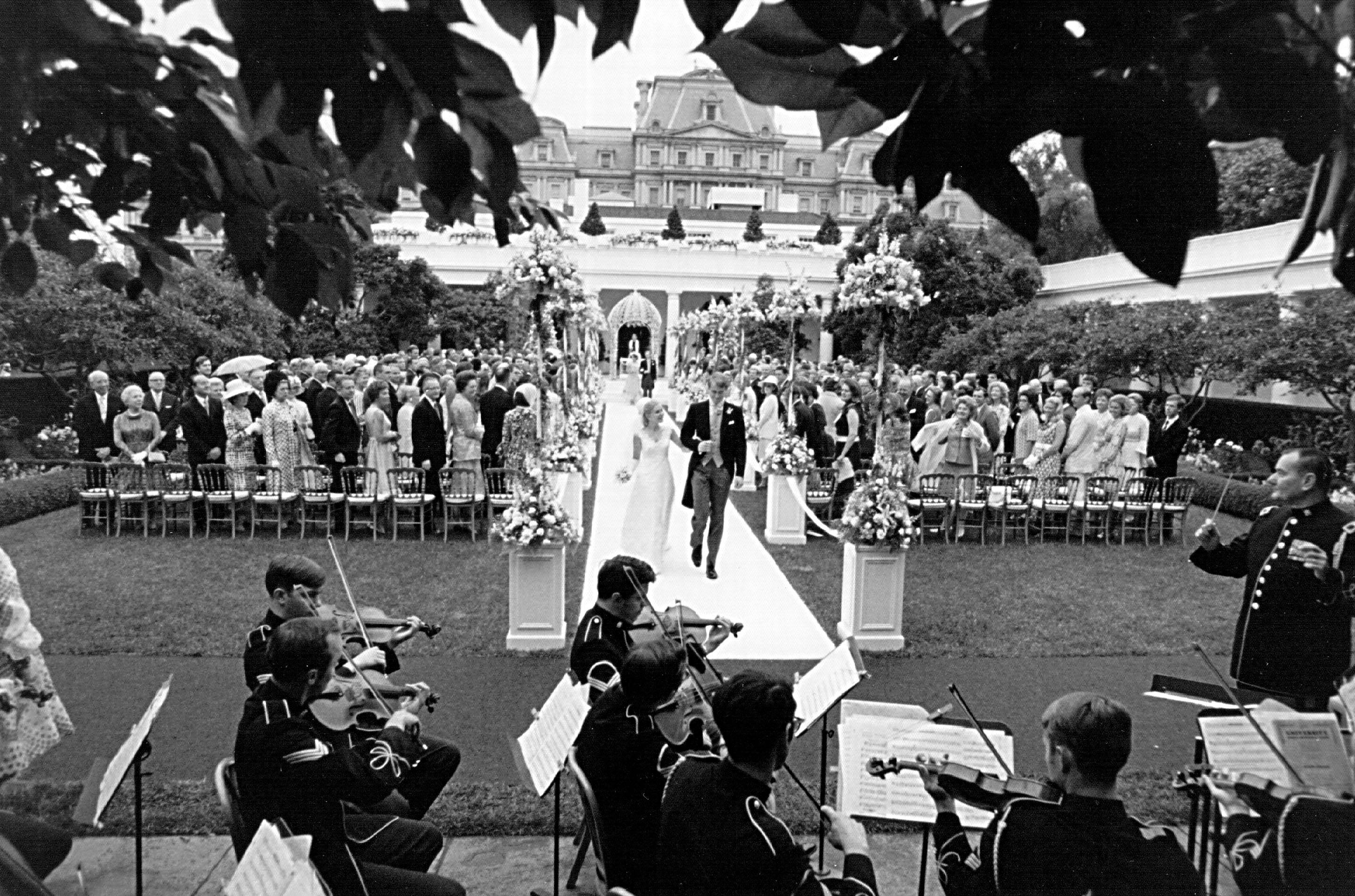 Tricia Nixon and Edward Cox Wedding