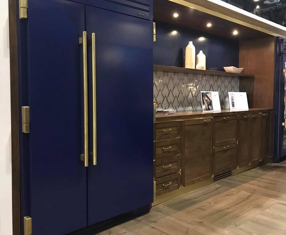True Residential cobalt fridge