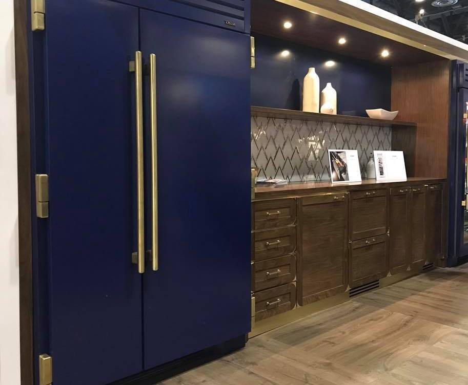 True Residential cobalt fridge