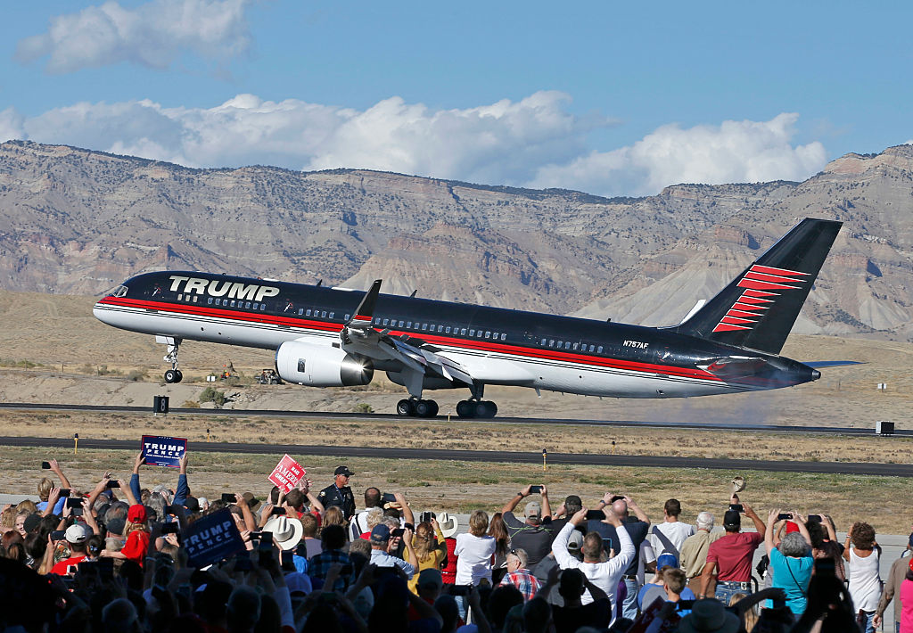 Donald Trump Private plane