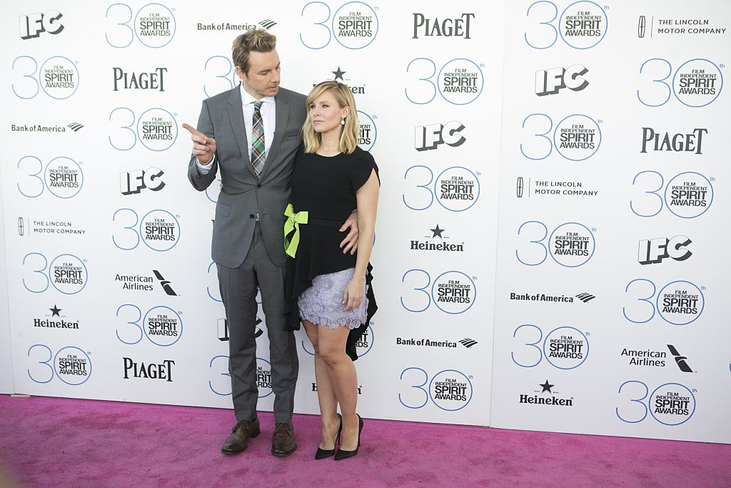 Kristen Bell and Dax Shepard arrives at the 2015 Independent Spirit Awards