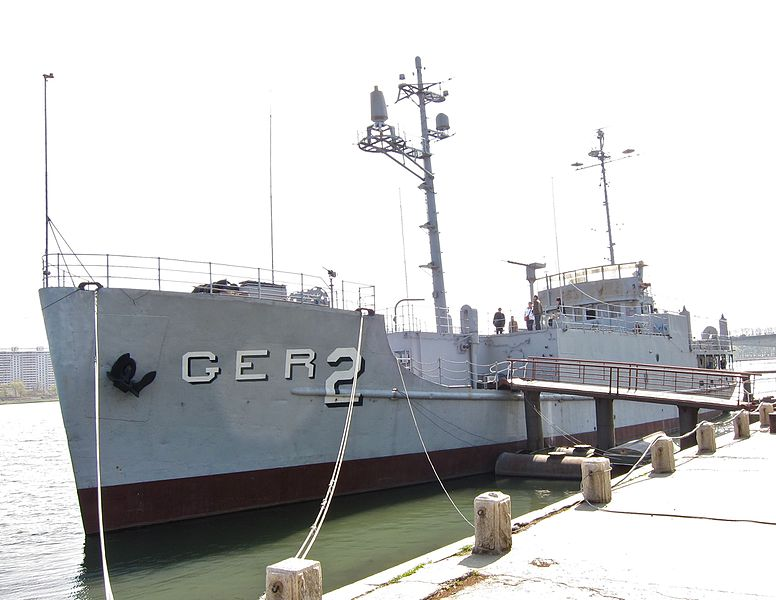 USS Pueblo ship in North Korea