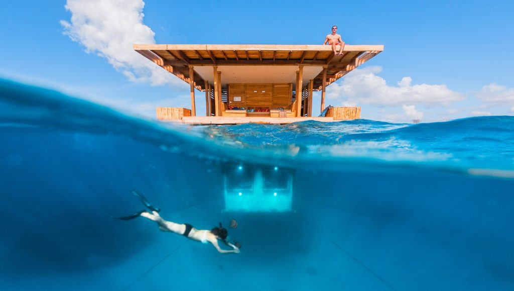 The Manta Underwater resort