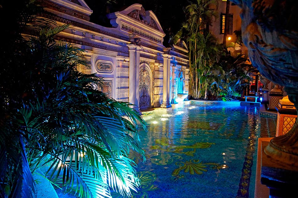Versace Mansion Pool