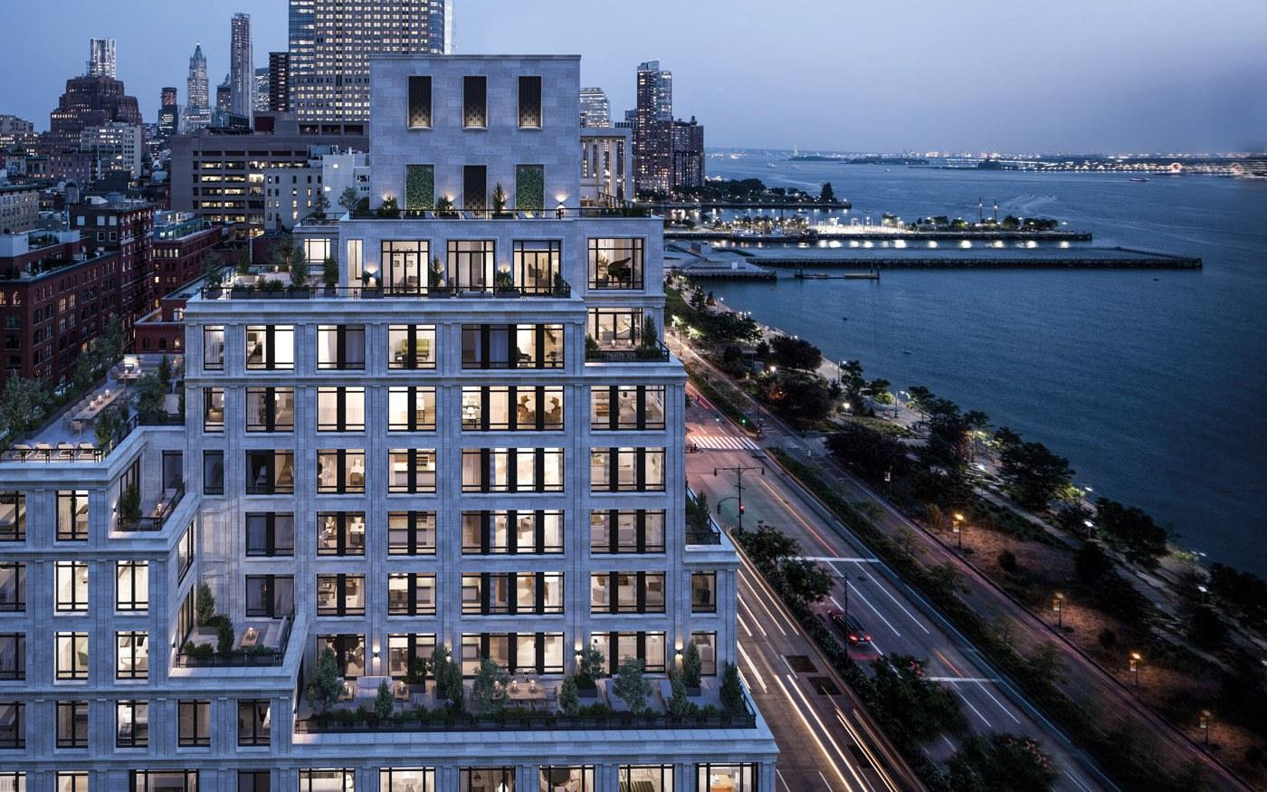 Vestry apartment building tom brady