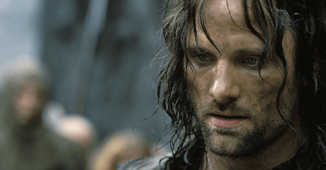Viggo Mortenson in 'Lord of the Rings: The Two Towers'.