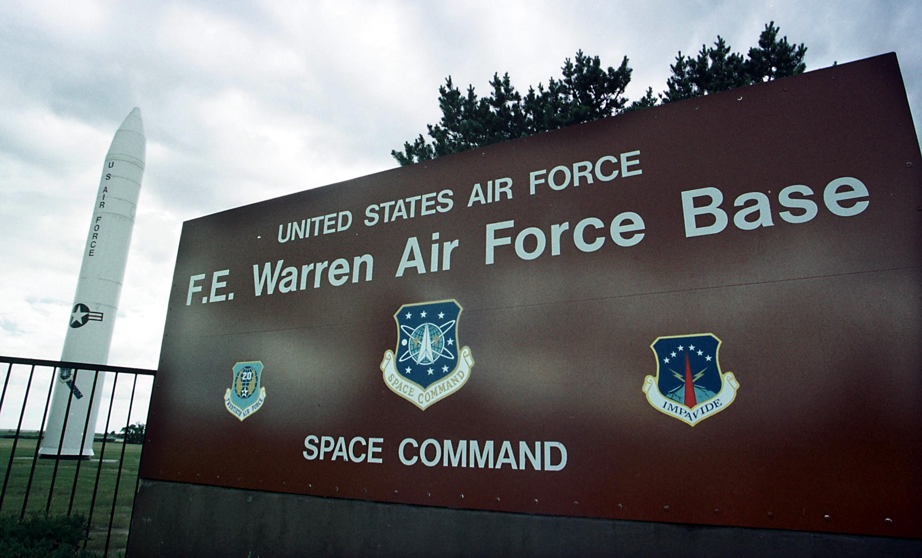 Warren Air Force Base Missiles