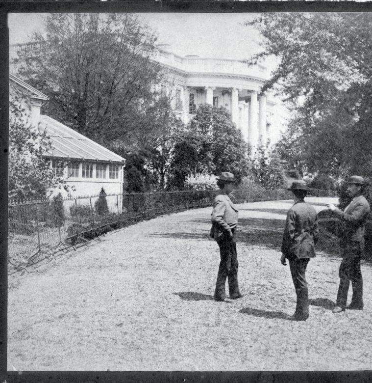 White House orangery