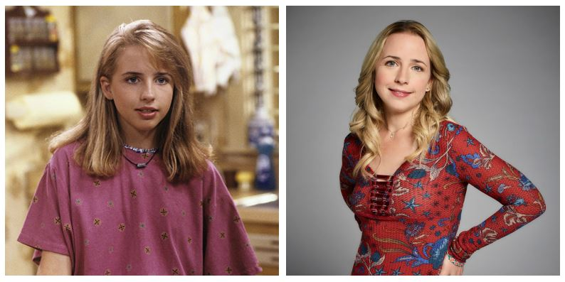 Lecy Goranson then and now