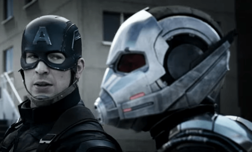 Ant-Man and Captain America