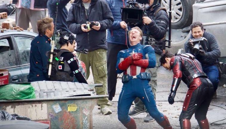 Avengers 4 set scene