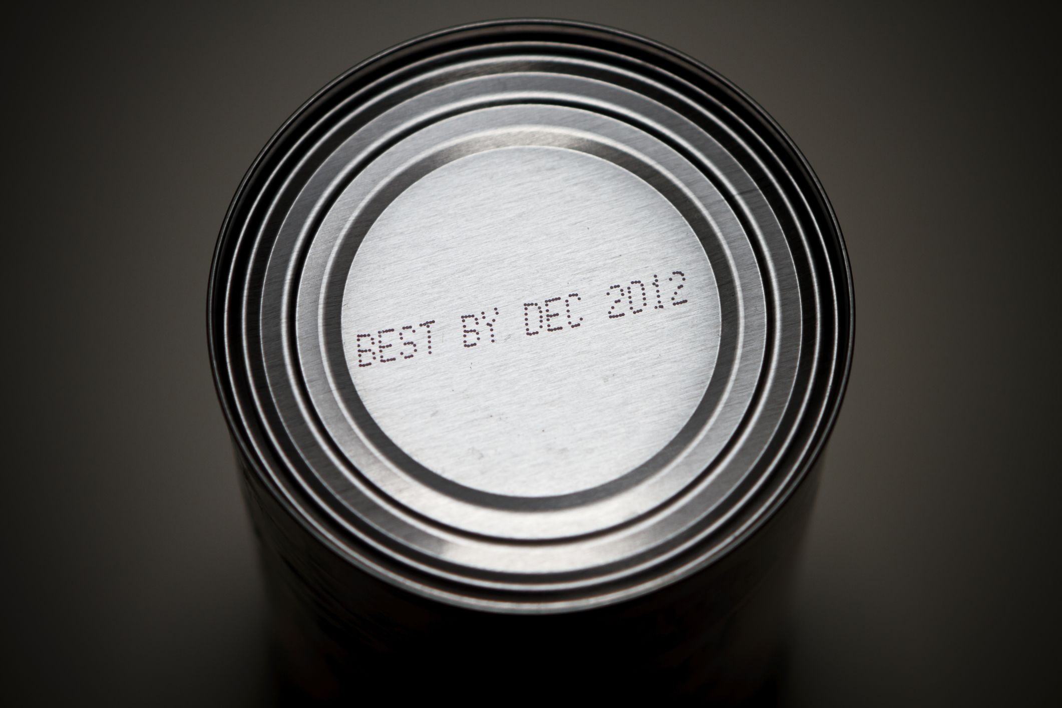 Best by date on bottom of can