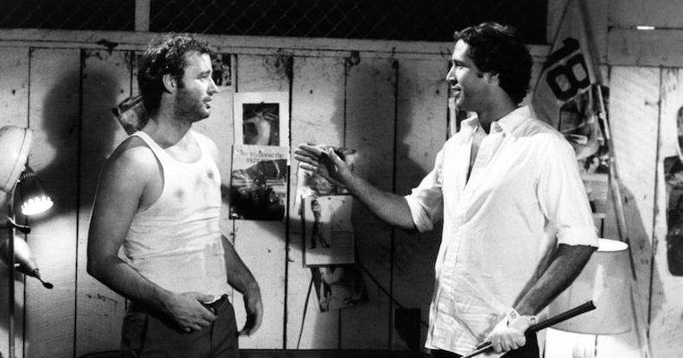 Bill Murray and Chevy Chase on Saturday Night Live