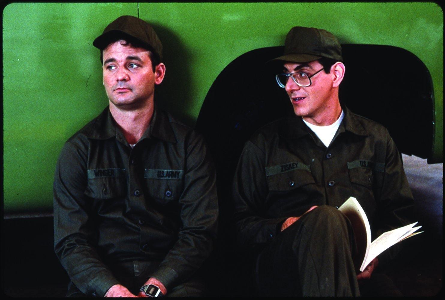 Bill Murray and Harold Ramis in Stripes
