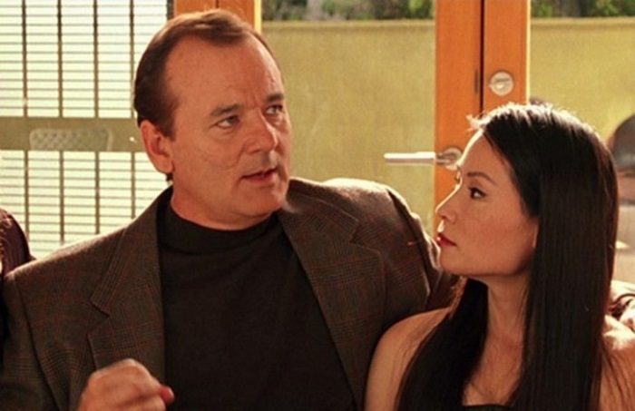 Bill Murray and Lucy Liu in Charlie's Angels