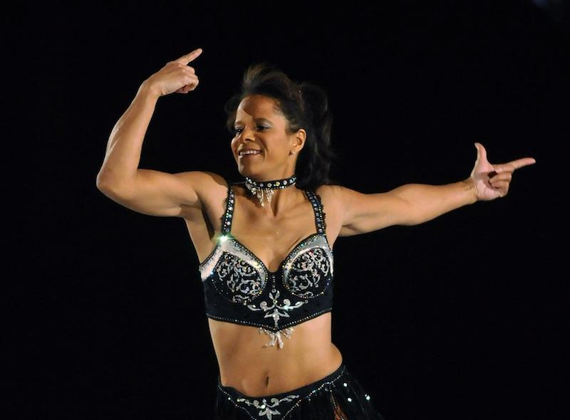 Debi Thomas skates during The Caesars Tribute on December 7, 2010 in Atlantic City, New Jersey. (Photo by Jonathan Fickies/Getty Images for Stargames)