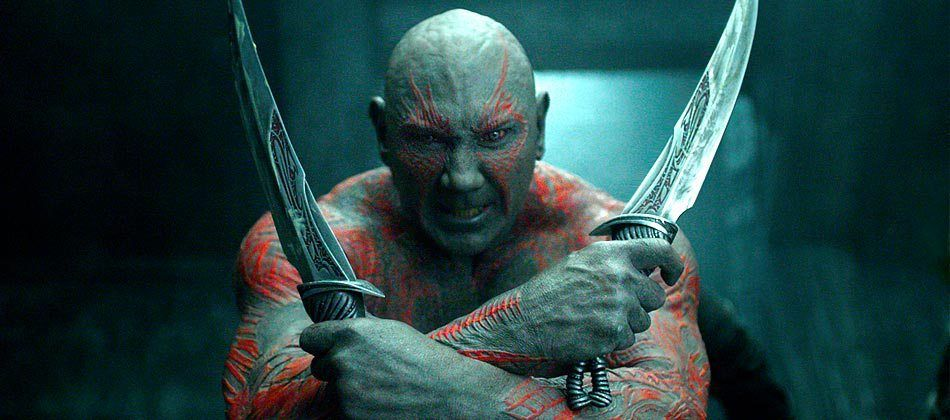 Drax the Destroyer in Marvel movies