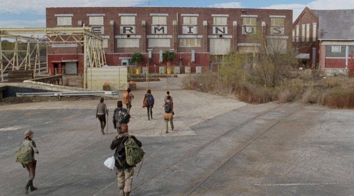 Terminus terminal on The Walking Dead