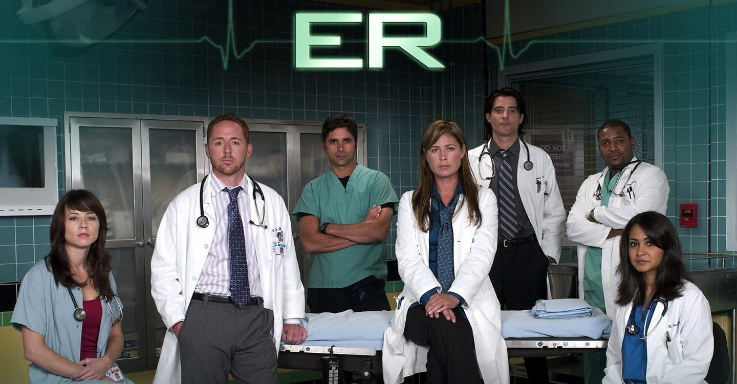 The cast of NBC's ER