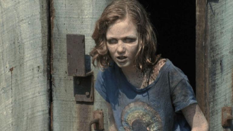 Sophia on the Walking Dead