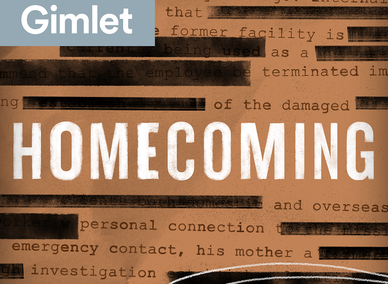 Homecoming podcast logo