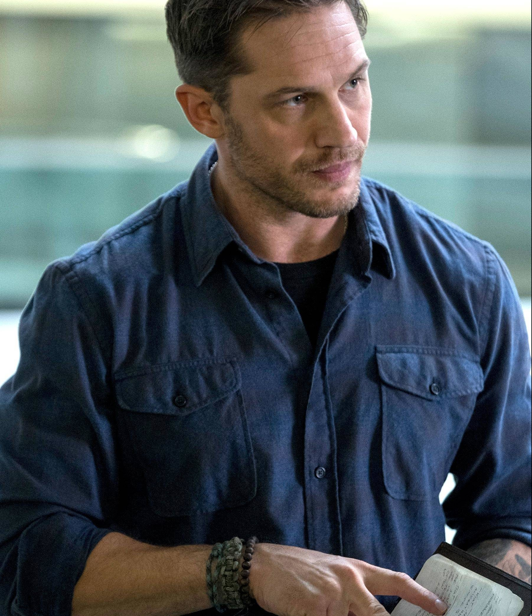 Eddie Brock (Tom Hardy) in Columbia Pictures' VEMON.