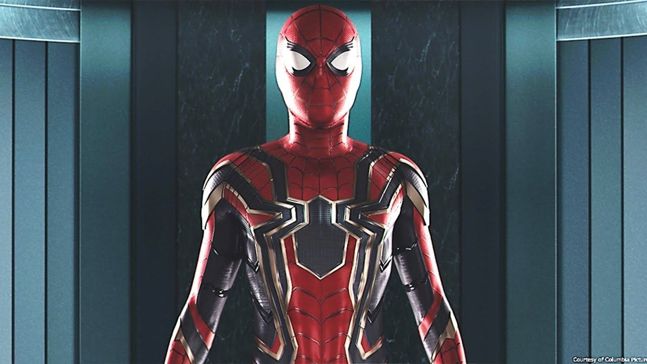 The Iron Spider suit in Spider-Man: Homecoming
