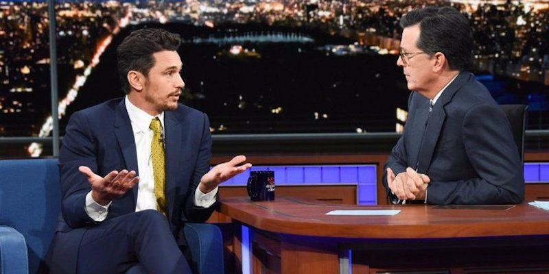 James Franco on The Late Show with Stephen Colbert