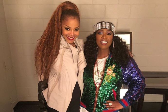 Janet Jackson and Missy Elliott