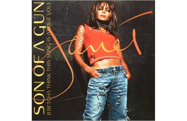 "Janet Jackson single ""Son of a Gun (I Betcha Think This Song Is About You)"""