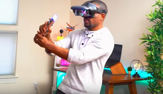 Virtual reality lightsaber battles? Yes, please!