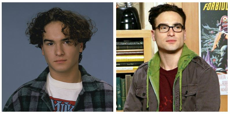 Johnny Galecki then and now