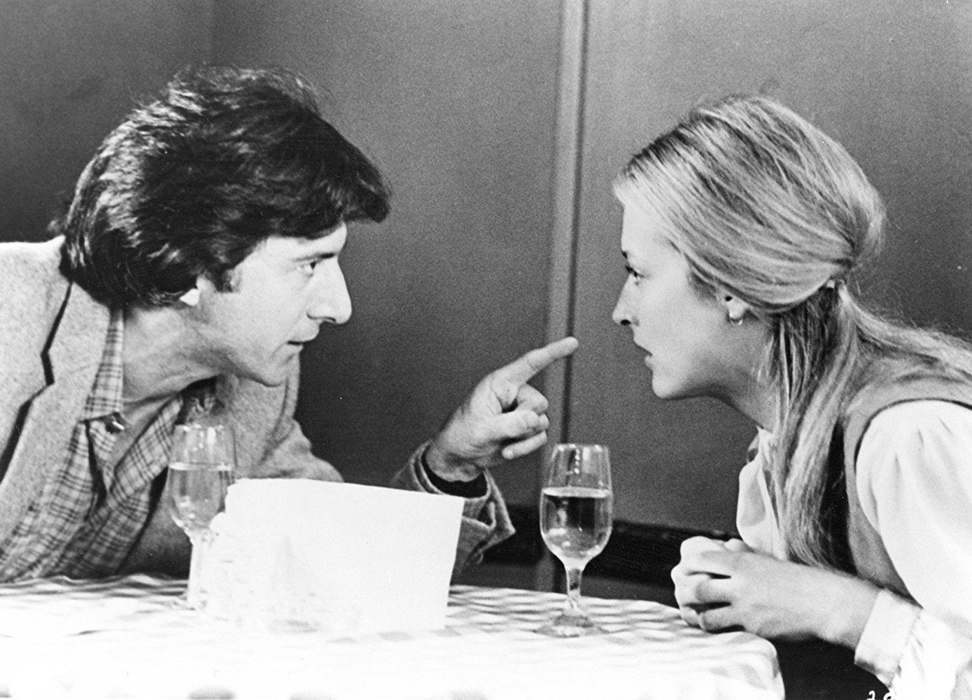 Dustin Hoffman and Meryl Streep in Kramer vs. Kramer