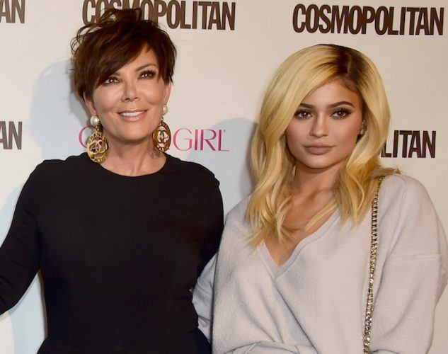Kris and Kylie Jenner.