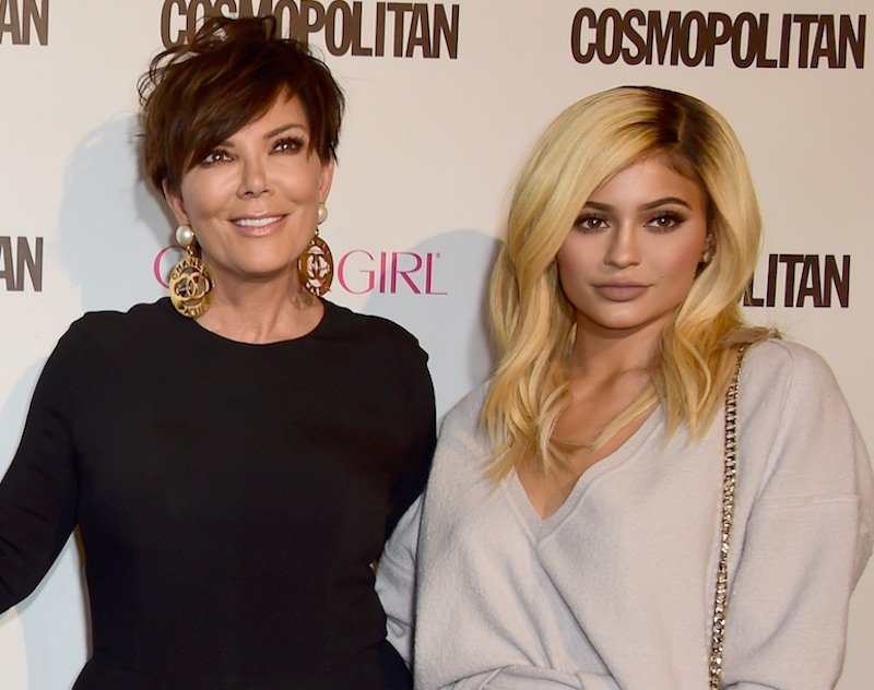 Kris and Kylie Jenner