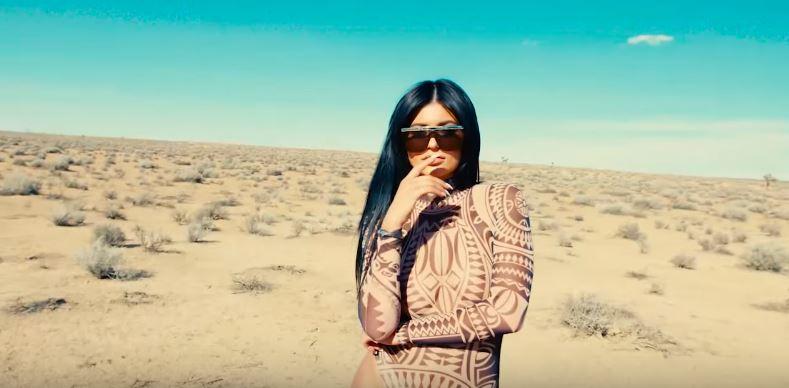 Kylie Jenner's desert photo shoot