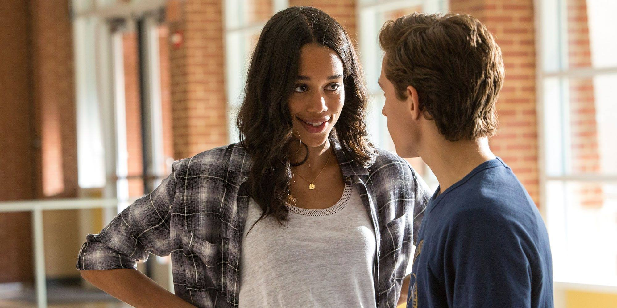 Laura Harrier as Liz Allan in Spider-Man: Homecoming