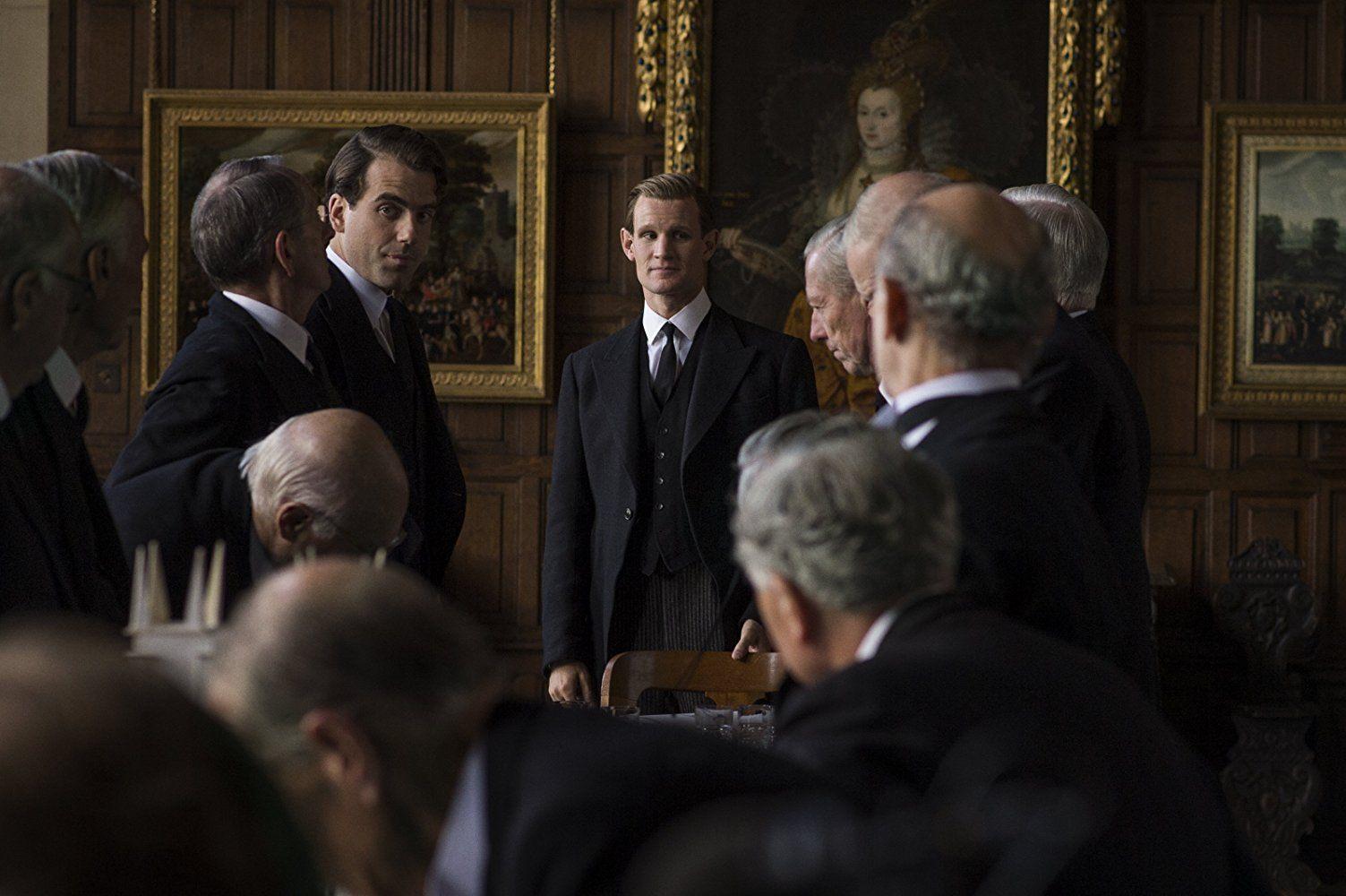 Matt Smith in The Crown