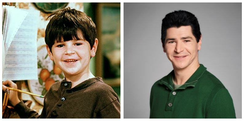 Michael Fishman then and now